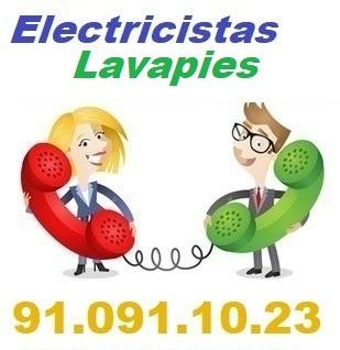 Telefono de la empresa electricistas Lavapies